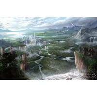 Elvorium Landscape Art Print