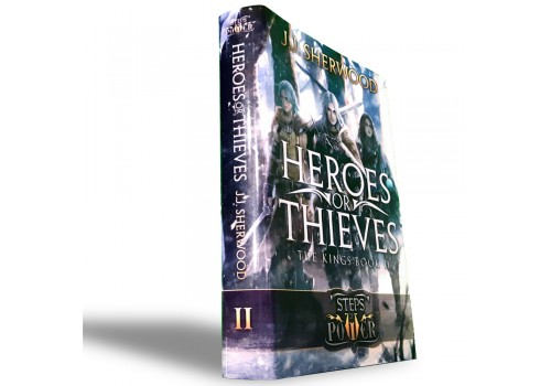 """Heroes or Thieves"" (Book 2) Hardback"