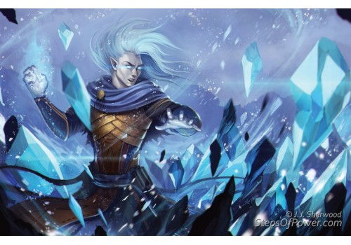 Jikun Ice Mage Art Print