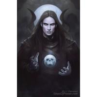 Navon Necromancer Art Print